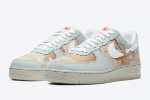 Best Sell Nike Air Force 1 '07 LX Desert Camo Shoes DD1175-001-1