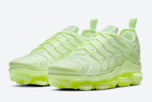 New Nike Air VaporMax Plus Barely Volt For Sale DJ3023-700-1